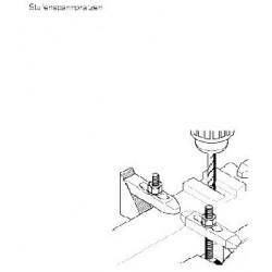 Proxxon Lépcsõs leszoritó 1 pár  (fa dobozban)