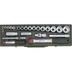 """Proxxon 27 R. 6-32 MM Kulcskészlet 1/4""""-1/2"""""""