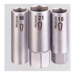 """Proxxon 1/2"""" Gyertyakulcs, 18mm, mágneses"""