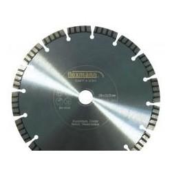 DBT Industrial turbo fogazott gyémánttárcsa 230x2,6x10x16x22,2