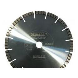 DBT szendvics turbo fogazott gyémánttárcsa 400x3,4x10x28x25,4