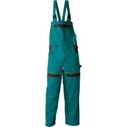 COOL TREND kantáros nadrág, 100%pamut, 260g, zöld