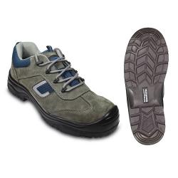 COBALT II (S1P CK) cipő, szürke hasítékbőr, kompozit kapli+talp
