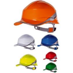 BASEBALL DIAMOND ipari védősisak megfordítható fejkosárral, fényvisszaverő csíkkal