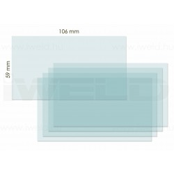 IWELD FANTOM 4 belső védőplexi 106x59mm