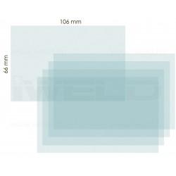 IWELD PANTHER 4.6 belső védőplexi 106x66mm