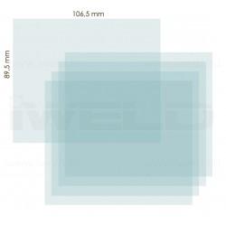 IWELD PANTHER DIGITAL 5.1 belső védőplexi 106,5x89,5mm