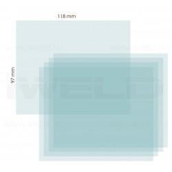 IWELD PANTHER 4.6 külső védőplexi 118x97mm