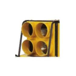 Négycsöves kivezetés 4 x 230 mm (BV310)