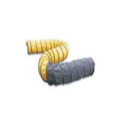 Légvezető cső (sárga-fekete) 7,6 m x 340 mm