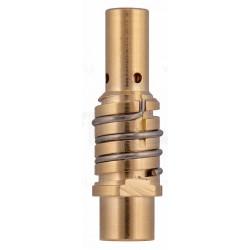Közdarab MIG150 M8x1,0mm (bal) rugóval