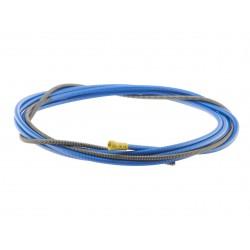 Huzalvezető spirál kék 4,4m 0,8-1,0