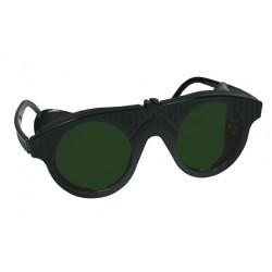 Lánghegesztő DIN5 védőszemüveg műanyag fekete
