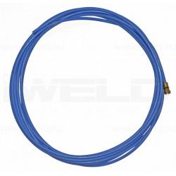 Huzalvezető teflon kék 3,4m 0,6-0,9mm