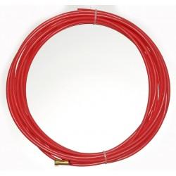 Huzalvezető teflon piros 4,4m 1,0-1,2mm