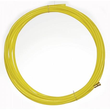 Huzalvezető teflon sárga 5,4m 1,4-1,6mm