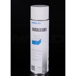 EXATEST repedés vizsgálati előhívó spray 500ml, fehér