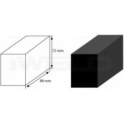 POLICLEAN tisztítófej (nyers forma,88x72x52mm)