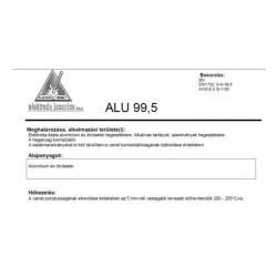 Elektroda ALU 99.5 2.5mm