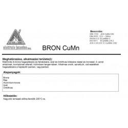 Elektróda BRON CU MN 3.25 mm (5kg / doboz)
