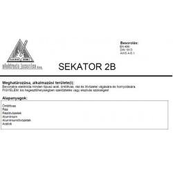 Elektróda Sekator 2B 4.00 mm (5,2kg / doboz)