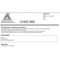 Elektróda CRWC 600 5.0 mm (5,2kg / doboz)
