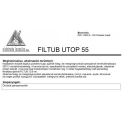FILTUB UTUP 55 1.2 mm huzal (15kg / dob)