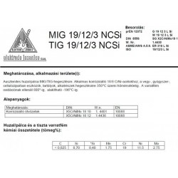 TIG 25/14 NC SI 1.6 mm (5kg)