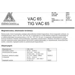 TIG VAC 65 1.6 mm (5kg)