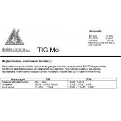 TIG MO 1.6 mm (25kg)