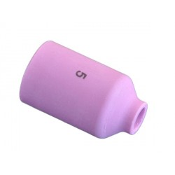 Gázlencsés kerámia gázterelő 5-ös SR9/20 8,0×25,5 MM