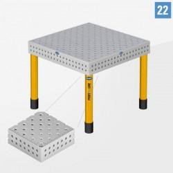 PROFI Plus LINE (PL) 3D Hegesztőasztal D22