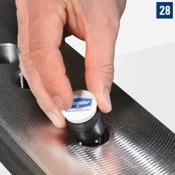 Mágnes záródugóhoz D28 Ø 32 mm