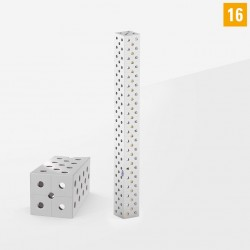 Távtartó elem, U-alakú, acél