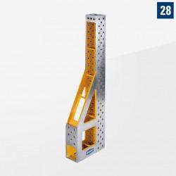 Profi Plus Line Végállító és szorító derékszög 2000mm