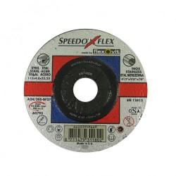 Speedoflex tisztítókorong 115 x 4,0 x 22,2 fém-inox