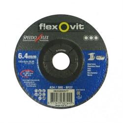 Speedoflex tisztítókorong 125 x 6,4 x 22,2 fém-inox