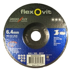 Speedoflex tisztítókorong 150 x 6,4 x 22,2 fém-inox