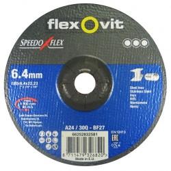 Speedoflex tisztítókorong 180 x 6,4 x 22,2 fém-inox