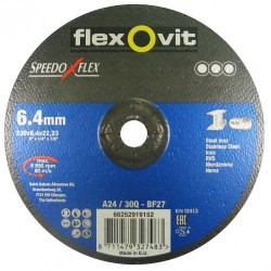Speedoflex tisztítókorong 230 x 6,4 x 22,2 fém-inox