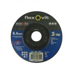 Speedoflex tisztítókorong, 115 x 6,4 x 22,2 fém-inox
