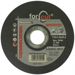 For Cut industry 115 x 1,0 x 22,2 fém-inox