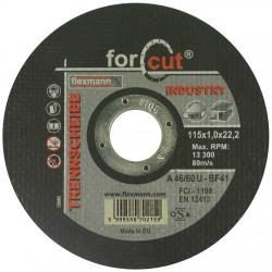 For Cut industry 115 x 1,0 x 22,2 fém-inox
