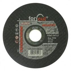 For Cut industry 125 x 2,5 x 22,2 fém-inox