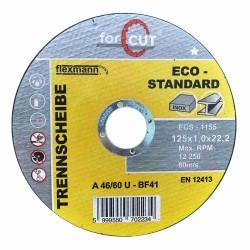 For Cut standard 125 x 1,0 x 22,2 fém-inox