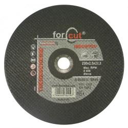 for-cut profi 230 x 2,5 x 22,2 fém-inox