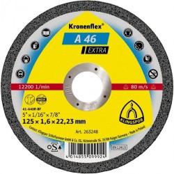 Klingspor 125x1,6x22,23 mm A46 Extra vágókorong / Kronenflex