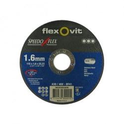 Speedoflex vágókorong 115 x 1,6 x 22,2 fém-inox