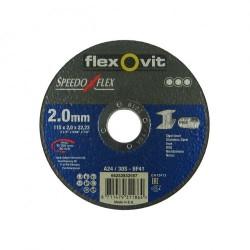 Speedoflex vágókorong 115 x 2,0 x 22,2 fém-inox