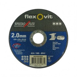 Speedoflex vágókorong 125 x 2,0 x 22,2 inox